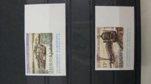 CEPT-Mitläufer EUROPA UNION-Symphatieausgabe Donaukommission Jugoslawien 1981 1903 U-1904 U **, geschnitten, ungezähnt