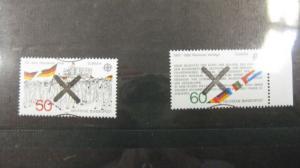 CEPT EUROPA-UNION Deutschland 1982 mit Andreaskreuz 1130-1131