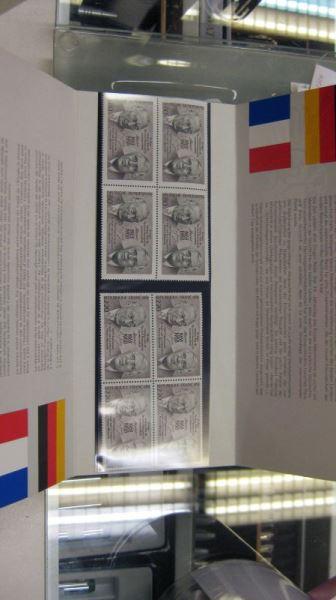 CEPT-Mitläufer EUROPA-UNION-Symphatie-Ausgabe 1988 deutsch-Franz.-Zusammenarbeit