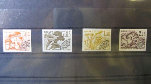 Vorausentwertung 1979 Pilze , 2136 U-2139 U **, geschnitten, ungezähnt