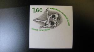 Judo-WM 1979, 2182  U **, geschnitten, ungezähnt
