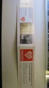 Privates Markenheft Wohlfahrtsmarken Berlin 1987/88 der Arbeiterwohlfahrt