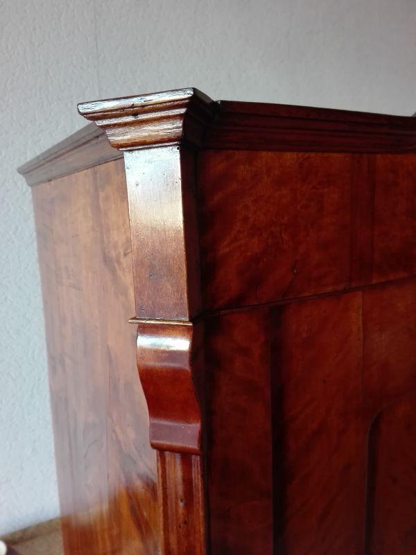 Kleiderschrank , Eintürer, Louis Philippe Stil 5