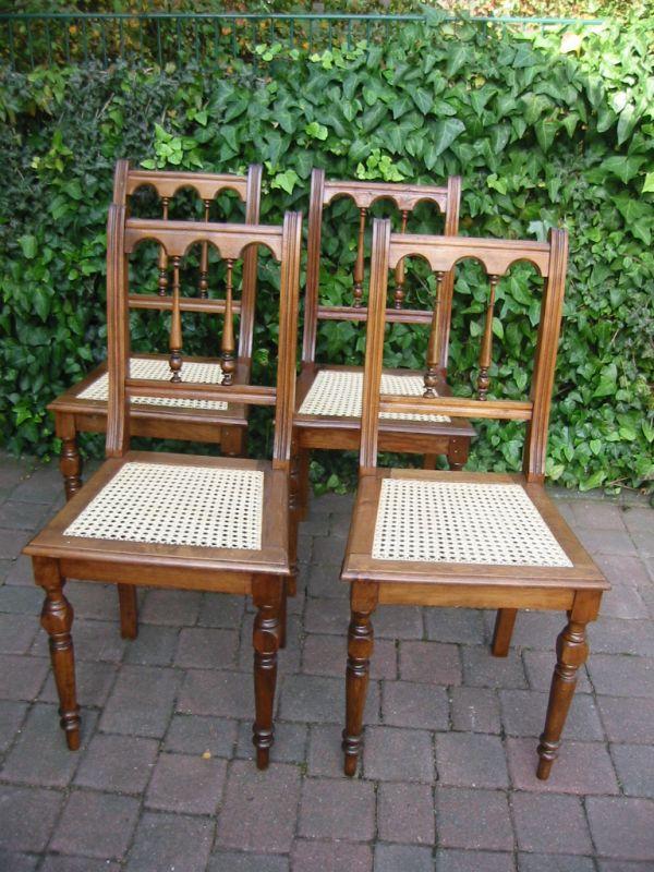 Stühle Gründerzeit Buche