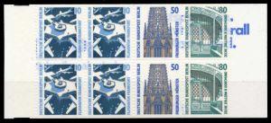 BERLIN MARKENHEFTCHEN Nr MH 14oZ postfrisch 6109CA