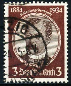 3. REICH 1934 Nr 540ya gestempelt 5D2706