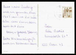 BERLIN DS BURGEN u. SCHLÖSSER Nr 614 BRIEF EF 1F628E