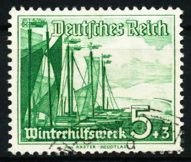 3. REICH 1937 Nr 653 gestempelt 5CEAAE