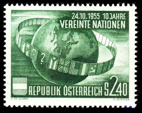 ÖSTERREICH 1955 Nr 1022 postfrisch 2F4022
