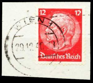 ÖSTERREICH OSTMARK Nr 519 zentrisch gestempelt Briefst³ck 5DA916