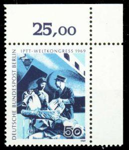 BERLIN 1969 Nr 345 postfrisch ECKE-ORE 2BCA4A