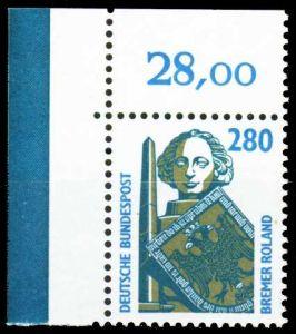 BRD DS SEHENSW Nr 1381 postfrisch ECKE-OLI 20860A