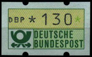 BRD ATM 1981 Nr 1-1-130R postfrisch S7F5266