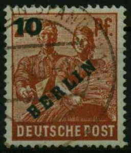 BERLIN 1949 Nr 65 gestempelt 12DBEA