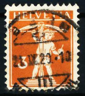 SCHWEIZ 1917 Nr 137 gestempelt 4C63D6