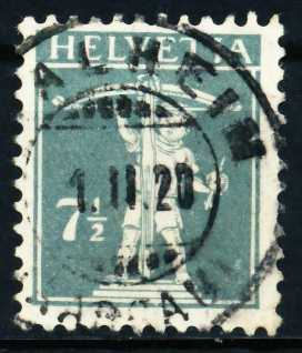 SCHWEIZ 1917 Nr 138II gestempelt 4C6402