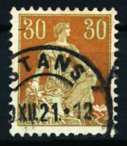 SCHWEIZ 1908 Nr 104 gestempelt 4C9BD2