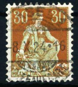 SCHWEIZ 1908 Nr 104 gestempelt 4C9BCA