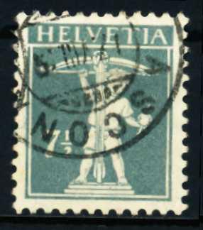 SCHWEIZ 1917 Nr 138II gestempelt 4C63C2