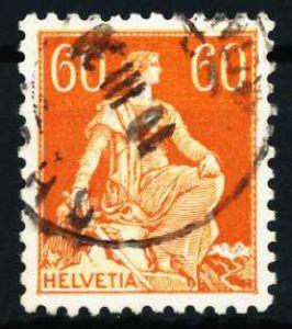 SCHWEIZ 1917 Nr 140z gestempelt 4C63DA