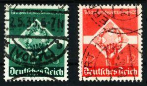 3. REICH 1935 Nr 571-572 gestempelt 5D27F6