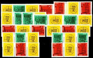 DDR ZD Nr SZd 44-WZd 125 postfrisch 205CA2