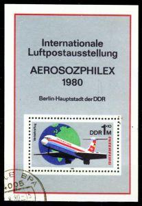 DDR 1980 Block 59 gestempelt 2BCEEE