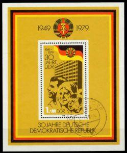 DDR 1979 Block 56 gestempelt 561A52