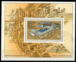 DDR 1981 Block 64 gestempelt 5684FE