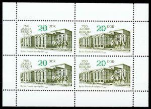 DDR 1987 Nr 3078KB postfrisch KLEINBG S518EBA