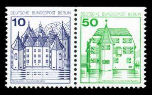BERLIN ZUSAMMENDRUCK Nr W73 postfrisch WAAGR PAAR S9F0782