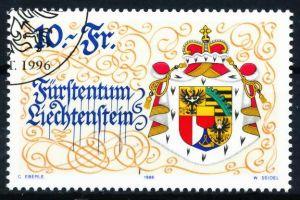 LIECHTENSTEIN 1996 Nr 1136 gestempelt SA19236