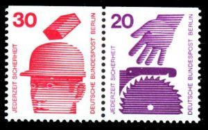 BERLIN ZUSAMMENDRUCK Nr W59 postfrisch WAAGR PAAR 236F6E