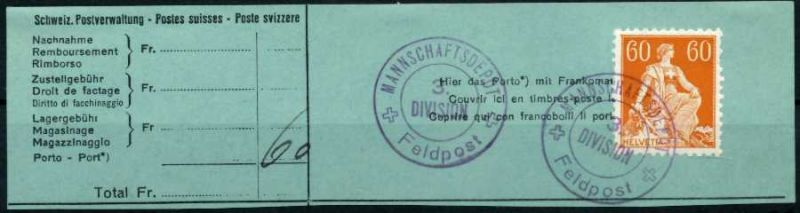 SCHWEIZ 1917 Nr 140z gestempelt Briefst³ck zentrisch 6971EA