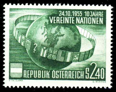 ÖSTERREICH 1955 Nr 1022 postfrisch 2F4042