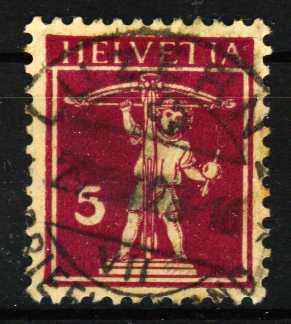 SCHWEIZ 1924 Nr 200x gestempelt 29DCEE