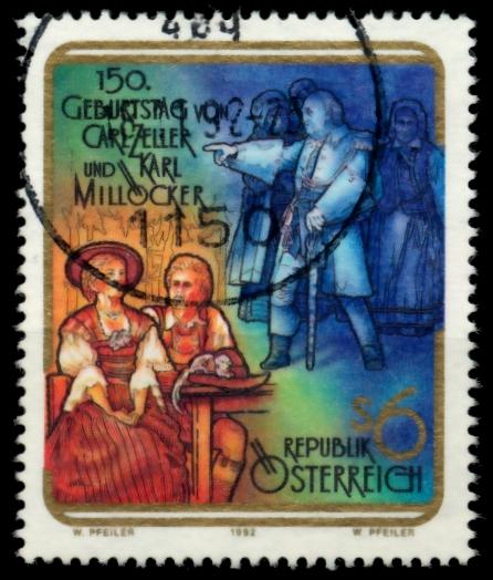 ÖSTERREICH 1992 Nr 2060 zentrisch gestempelt 6ECCC2