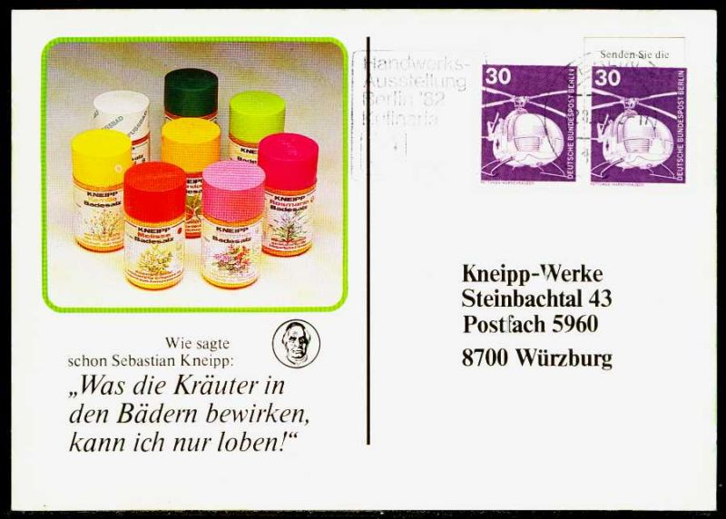 BERLIN DS INDUSTRIE u. TECHNIK Nr 497 BRIEF MEF 1F629A