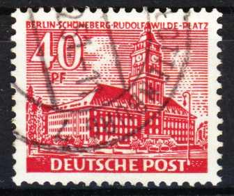 BERLIN DS BAUTEN 1 Nr 52 gestempelt 2B658A
