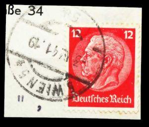 ÖSTERREICH OSTMARK Nr 519 zentrisch gestempelt Briefst³ck 5DA92A