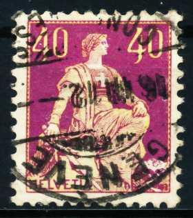 SCHWEIZ 1908 Nr 106 gestempelt 4C623E