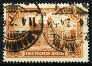 D-REICH INFLA Nr 114a zentrisch gestempelt 68730E