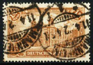 D-REICH INFLA Nr 114a zentrisch gestempelt 6872E2