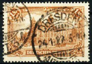 D-REICH INFLA Nr 114a zentrisch gestempelt 687312