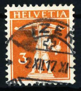 SCHWEIZ 1917 Nr 137 gestempelt 4C63A6