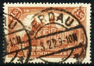 D-REICH INFLA Nr 114a zentrisch gestempelt 6872F2