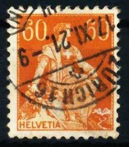 SCHWEIZ 1917 Nr 140x gestempelt 4C63AA