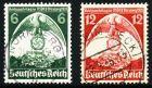 3. REICH 1935 Nr 586X-587X gestempelt 5CE6DA