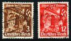 3. REICH 1935 Nr 598x-599x zentrisch gestempelt 5CE9BA