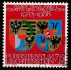 LIECHTENSTEIN 1968 Nr 496 gestempelt 6E943A